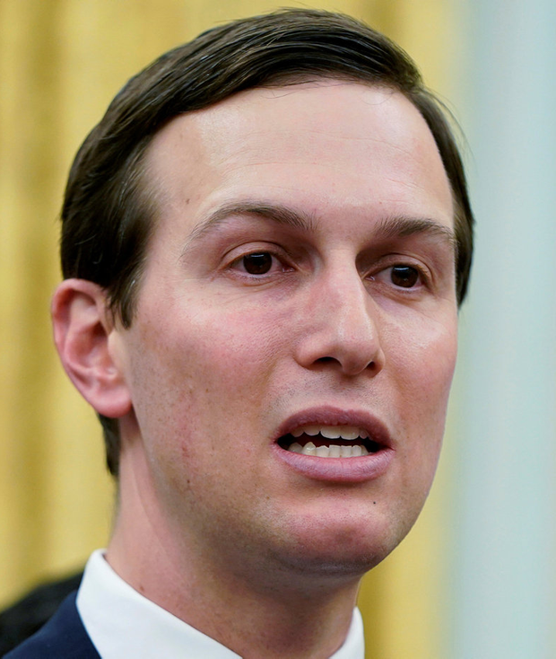 Jared Kushner: Trump's son-in-law and adviser got security clearance. Photo: REUTERS/Joshua Roberts