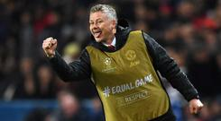 Ole Gunnar Solskjaer masterminded one of Manchester United's great Champions League nights in Paris