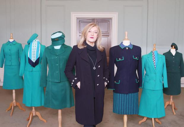 Irish designer Louise Kennedy is creating a 'new look' Aer Lingus uniform