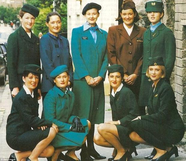 Aer Lingus uniform through the decades