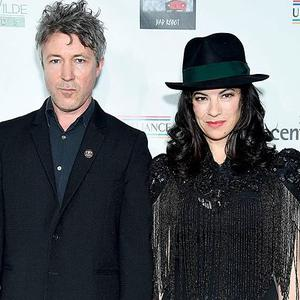 Aidan Gillen and Camille O'Sullivan will perform together at Rock Against Homelessness at the Olympia Theatre on April 23 (Photo by Gregg DeGuire/Getty Images)