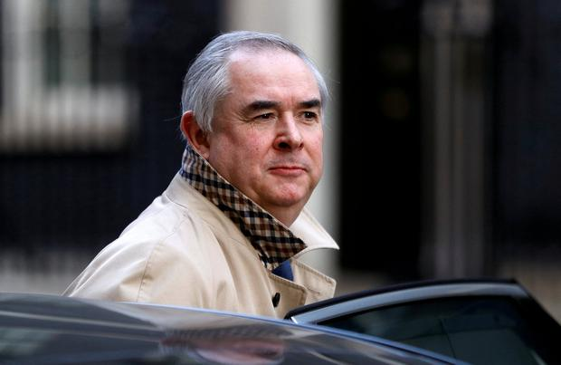 """Heading back to Brussels: UK attorney general Geoffrey Cox said the UK's proposals """"are as clear as day"""". Photo: REUTERS"""