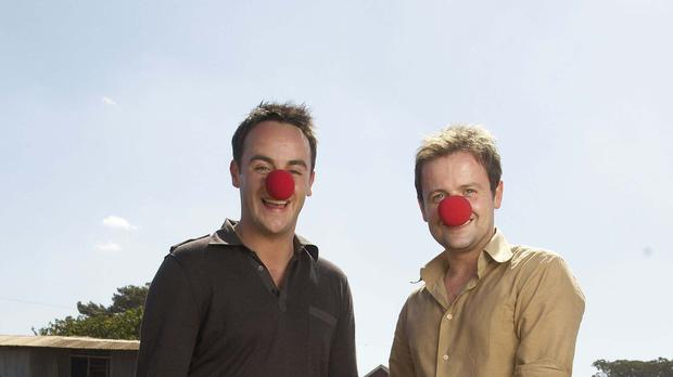 Ant Mcpartlin And Declan Donnelly In 2007 Comic Relief