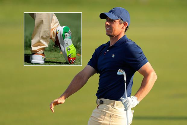 Rory McIlroy's Arnold Palmer inspired shoes and outfit
