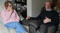 Clones-based Walter and Margaret Pringle spent three years crossing the border before they married