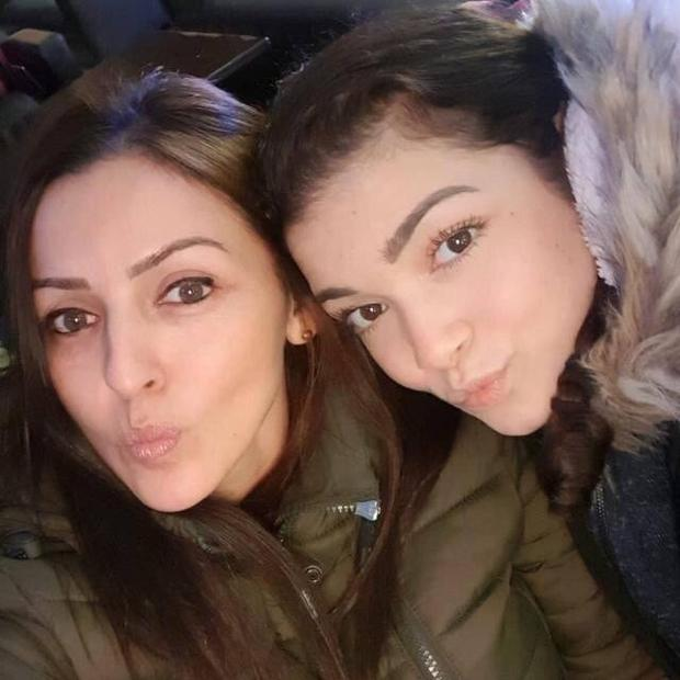 Tragic: Giselle Marimon-Herrera and her 15-year-old daughter Allison