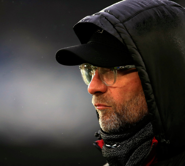 'Klopp suggested the analysis of his side's performances came into the category of 'try it, if it doesn't work, let's try another way'.' Photo: Peter Byrne/PA Wire
