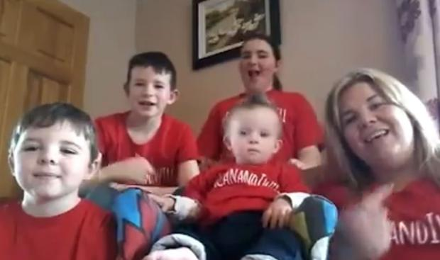 Families lip sync to Ellie Goulding's How Long Will I Love You for World Down Syndrome Day 2019