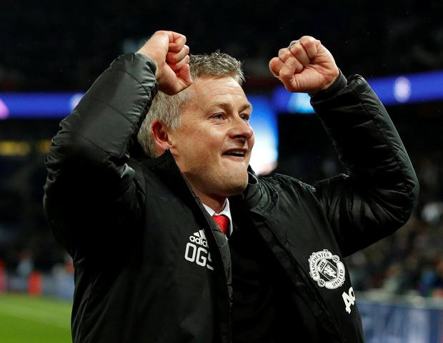 Ole Gunnar Solskjaer has enjoyed a remarkable run of form since becoming Manchester United caretaker manager, and it is widely expected that he will land the role on a permanent basis. Photo: John Sibley/Action Images via Reuters