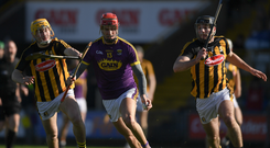 Wexford overcame a five-point half time deficit to see off Kilkenny. Photo by Ray McManus/Sportsfile