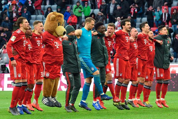 Bayern humiliate Wolfsburg to take Bundesliga lead