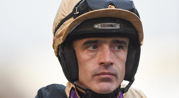 Ruby Walsh to take part in a six-furlong maiden on the flat at Naas on Sunday