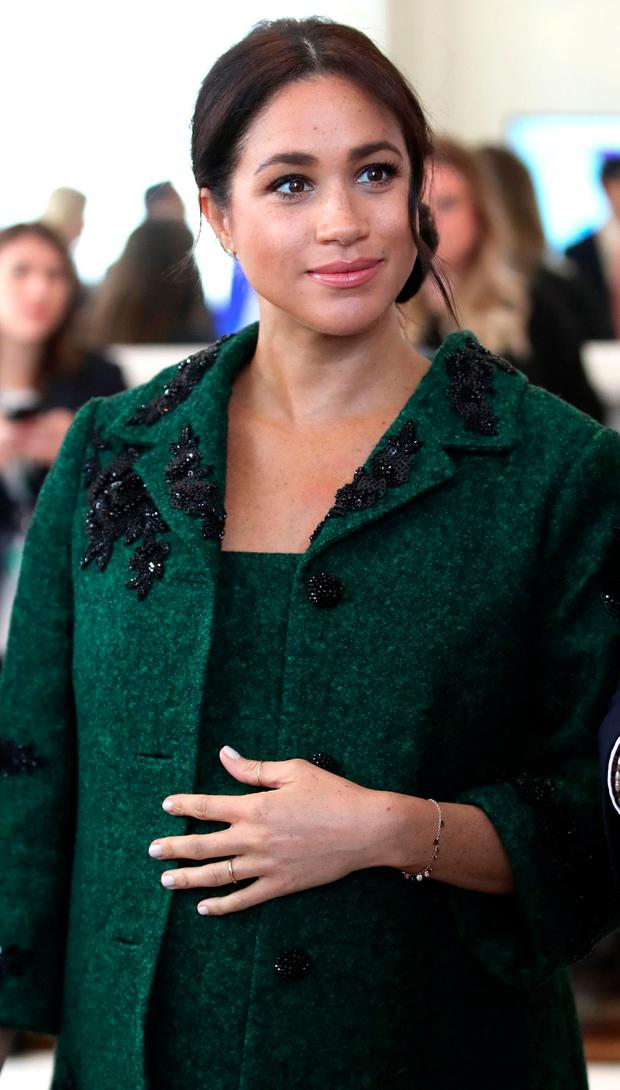 Meghan, Duchess of Sussex, attends an event at Canada House, the offices of the High Commision of Canada in the United Kingdom, to mark Commonwealth Day, in central London, on March 11, 2019