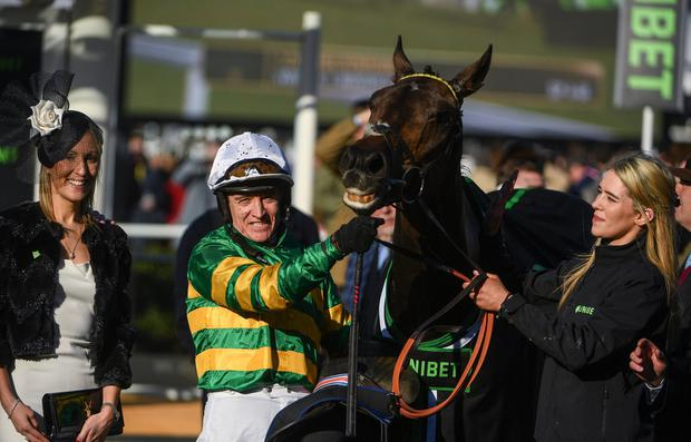 D'Air and grace: Barry Geraghty and Buveur D'Air will be hoping for similar success to last year. Photo By Ramsey Cardy/Sportsfile via Getty Images