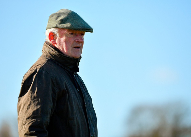 God Cup winning trainer, Willie Mullins. Photo by Seb Daly/Sportsfile