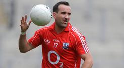 Legend: Kieran O'Connor was praised for his on-pitch displays – now he needs the help of his fans. Photo: SPORTSFILE