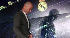 Zidane will want to create as great a sense of unity as possible. Photo: Reuters/Susana Vera