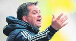 Davy Fitzgerald (pictured) has started Liam Óg McGovern and Diarmuid O'Keeffe in every game. Photo: Eóin Noonan/Sportsfile