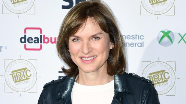 Fiona Bruce attending the TRIC Awards 2019 50th Birthday Celebration held at the Grosvenor House Hotel, London. (Ian West/PA)