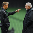 Saturday will be the last Six Nations game for Warren Gatland and Joe Schmidt - for now. Photo by Brendan Moran/Sportsfile
