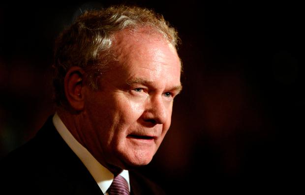 Outrage: The mayor of San Francisco said she should have taken more care in her tribute to the late Martin McGuinness. Photo: Niall Carson/PA Wire