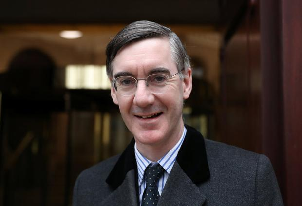 Jacob Rees Mogg: The Brexiteer has proposed a May 22 extension. Photo: REUTERS/Simon Dawson