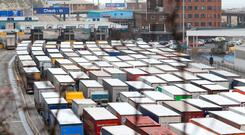 Among the issues raised is the failure by the UK's Department of Transport to make timely preparations to procure the additional freight capacity needed to transport critical goods. Photo: PA