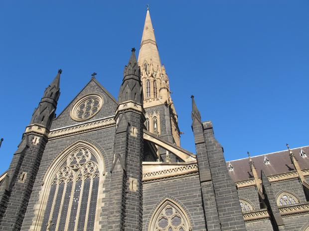 St Patrick's Cathedral in Melbourne (AP Photo/Rod McGuirk)