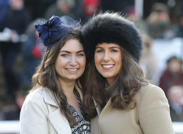 Cariosa Kennedy, left, from Clare, and Eimear McManus, from Limerick. Photo: Damien Eagers/INM