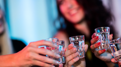 The countries with the highest levels of young women binge drinking - with a prevalence of more than 55pc - were Denmark, Finland, Ireland and New Zealand, in that order.