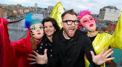 St Patrick's Festival 2019 Grand Marshals Deirdre O'Kane and Jason Byrne