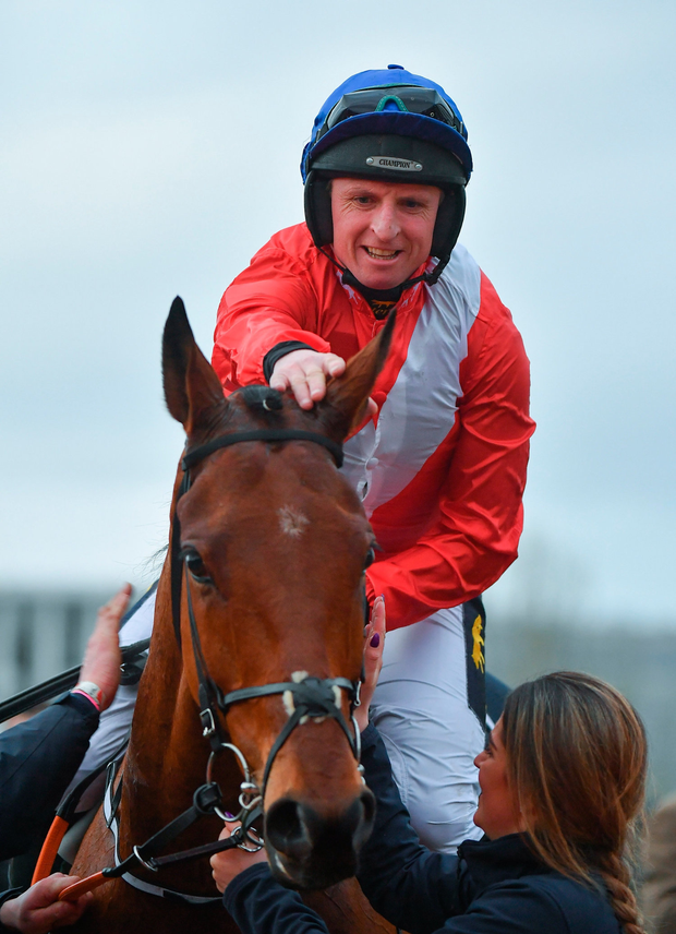 Last year's leading Festival trainer had another win coming through Jamie Codd. Photo by Seb Daly/Sportsfile