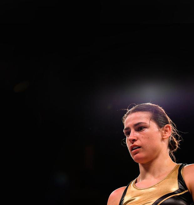 TICKING THE BOXES: Ireland's world champion Katie Taylor. Photo by Stephen McCarthy/Sportsfile