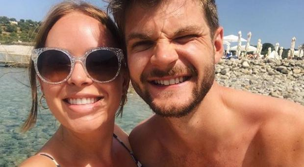 Tanya Burr and husband Jim Chapman announced their divorce. Picture: Instagram
