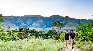 Drakensberg is renowned for its hiking