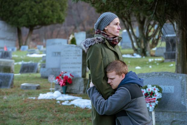 Ben is Back. Julia Roberts with Lucas Hedges