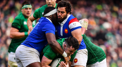 World Rugby say that the proposed new international tournament can earn over €5bn. Photo by Brendan Moran/Sportsfile