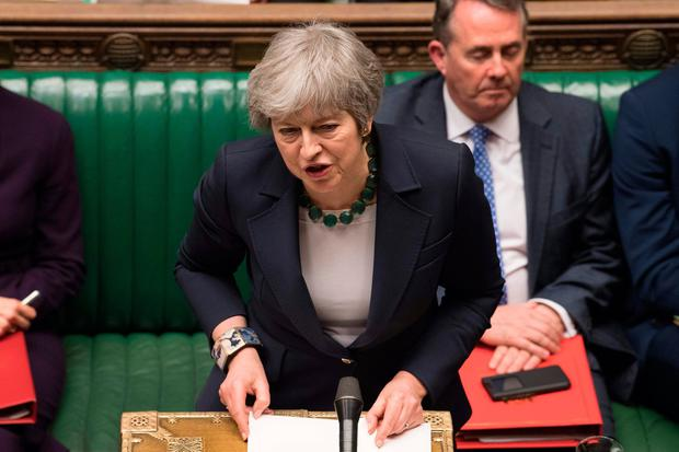 Britain's Prime Minister Theresa May. Photo: MARK DUFFY/AFP/Getty Images