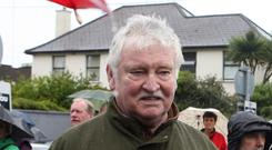 Pat Laffan was best known for playing character Pat Mustard in Father Ted (Liam McBurney/PA)