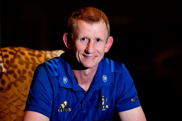 Leinster Head Coach Leo Cullen. Photo: Matt Browne/Sportsfile