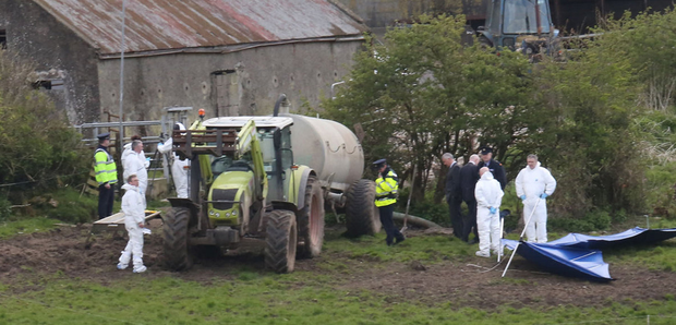 A slurry tank is drained at Mary Lowry s farm outside Tipperary town.