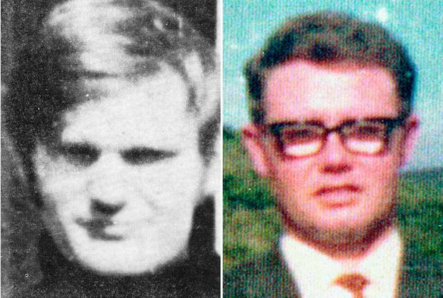 Victims Soldier F is accused of murdering James Wray and William McKinney