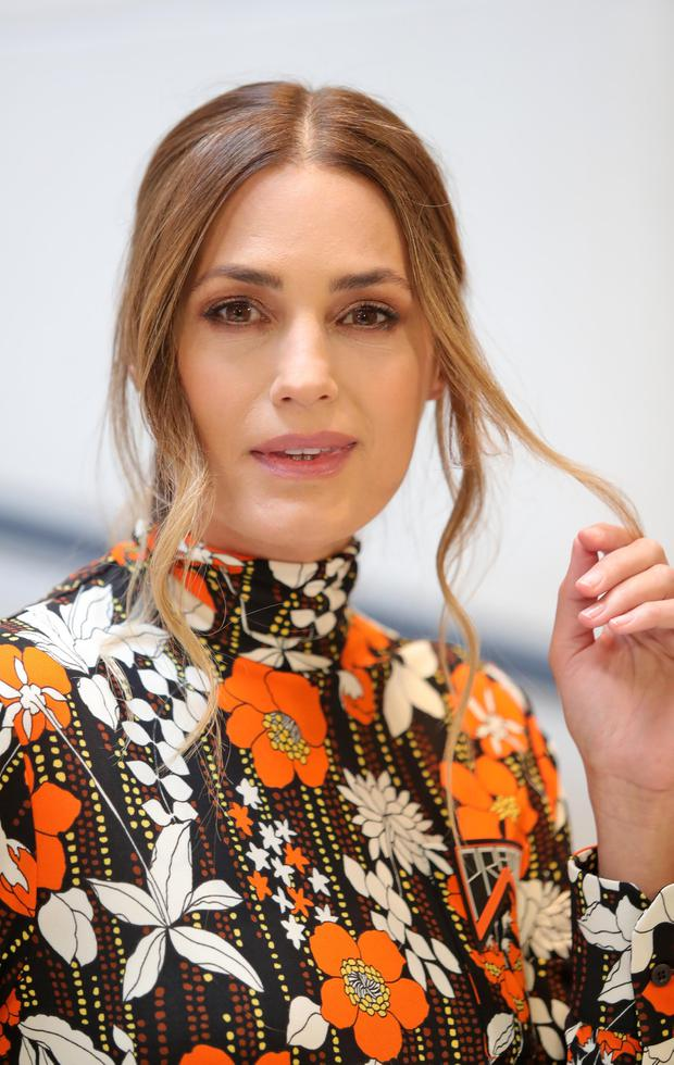 Still got it: Model Yasmin Le Bon (54) at Brown Thomas, Dublin, where she launched 'Beauty Icons', yesterday. Photo: Colin Keegan/Collins