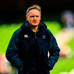 PRESSURE COOKER: Irish head coach Joe Schmidt. Photo: Ramsey Cardy/Sportsfile