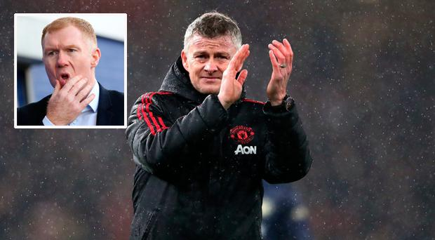 Ole Gunnar Solskjaer has invited former team-mate Paul Scholes to come into Manchester United for a chat following his abrupt exit from Oldham.