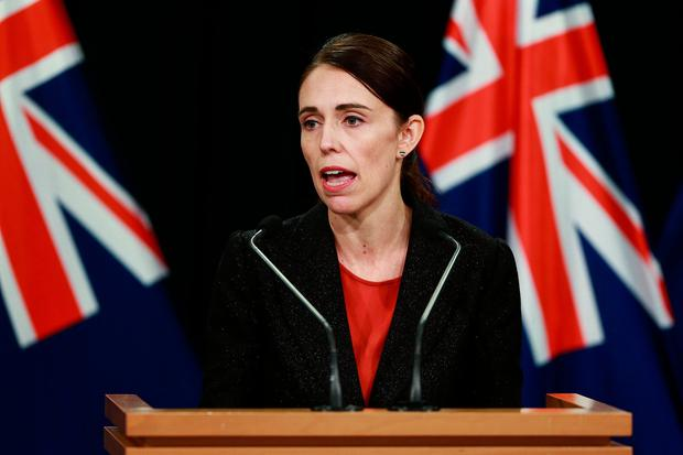 Prime Minister Jacinda Ardern speaks to media during a press conference at Parliament on March 15, 2019 in Wellington, New Zealand. Photo: Hagen Hopkins/Getty Images