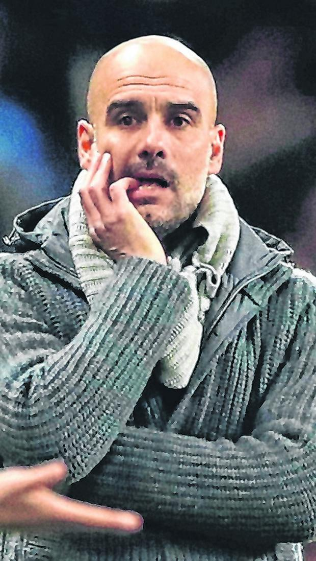 The Champions League is Pep Guardiola's obsession as Manchester City manager. Photo: Reuters/Lee Smith