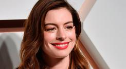 US actress Anne Hathaway attends The Shops & Restaurants at Hudson Yards Vip Grand Opening Event on March 14, 2019 in New York City. (Photo by Angela Weiss / AFP)