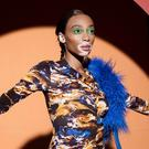 Winnie Harlow poses Backstage prior the Kenzo Menswear Fall/Winter 2019-2020 show as part of Paris Fashion Week on January 20, 2019 in Paris, France. (Photo by Francois Durand/Getty Images)
