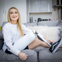 Model Bernadette Hagans at home in west Belfast on March 15th 2019 (Photo by Kevin Scott / Belfast Telegraph)